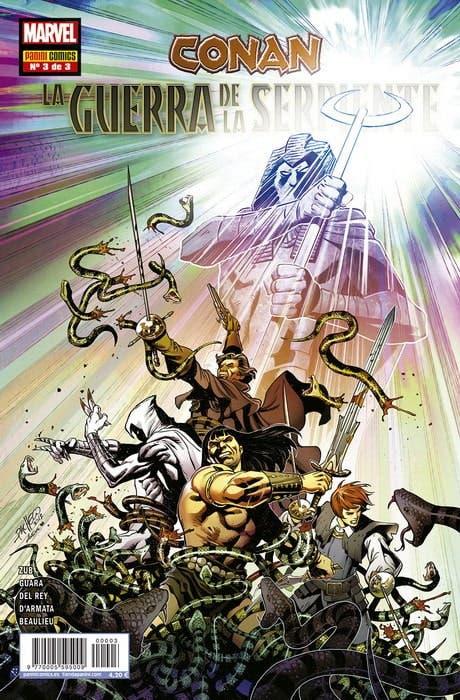 Conan: La Guerra de la Serpiente 3 de 3
