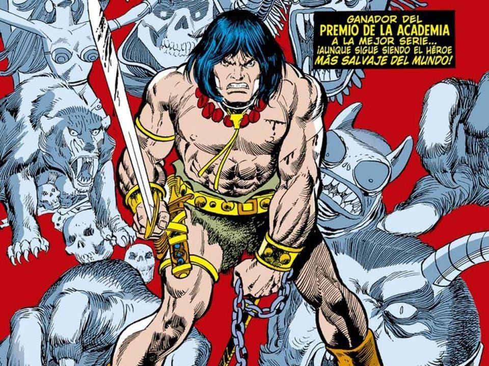 Reseña MARVEL OMNIBUS Conan el Bárbaro Volumen 3