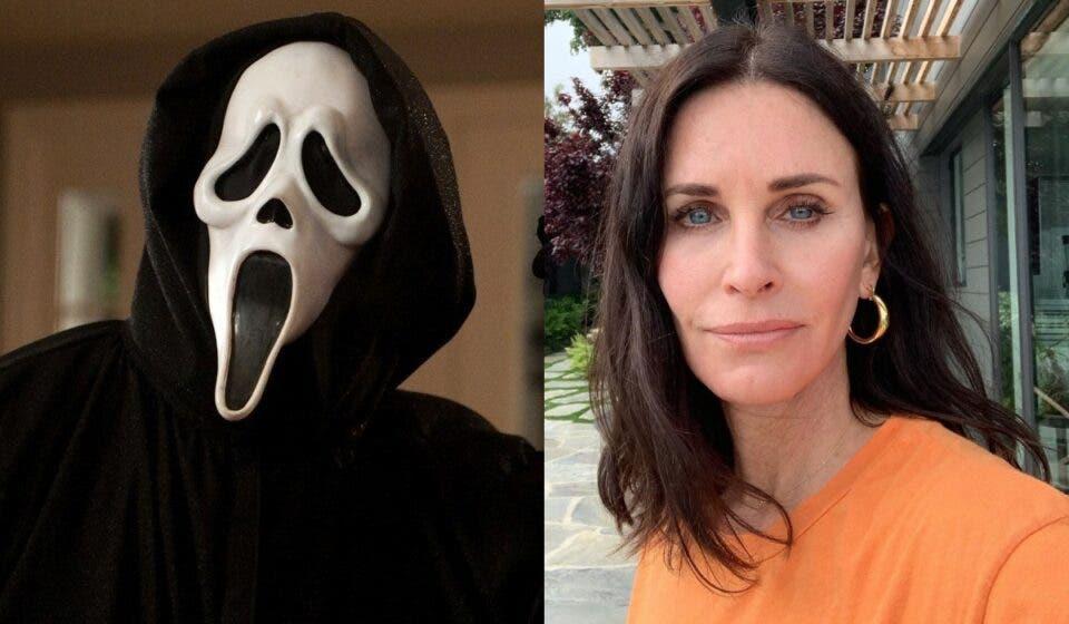 Scream 5: Primeras imágenes de Courtney Cox en el rodaje