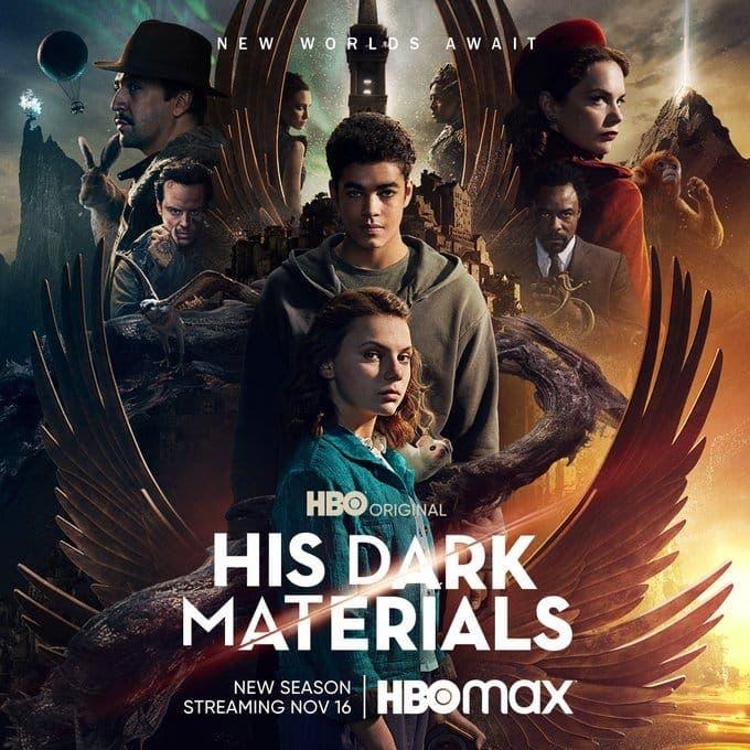 HBO ha anunciado que el primer capítulo de la segunda temporada de His Dark Materials llegará el 16 de noviembre a la plataforma.