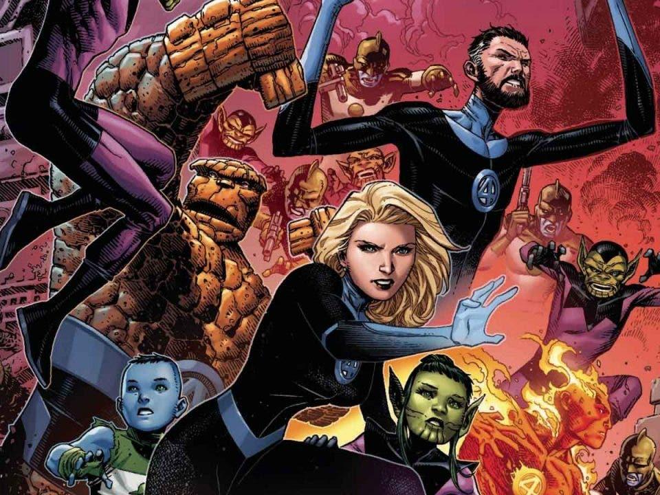 Imperio 0B Los Cuatro Fantásticos. ¿La eterna Guerra Kree/Skrull?