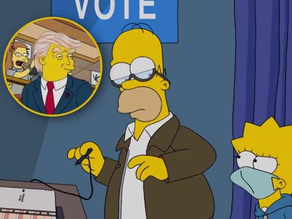 Los Simpson atacan duramente a Donald Trump