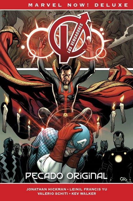 Marvel Now! Deluxe. Los Vengadores de Jonathan Hickman tomo 7. Pecado Origina