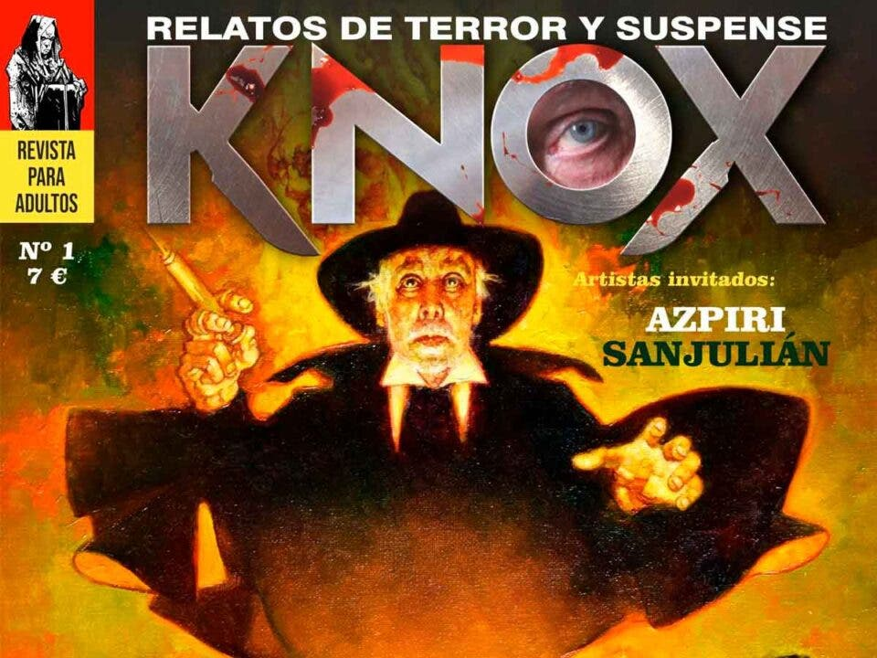 Portada revista KNOX
