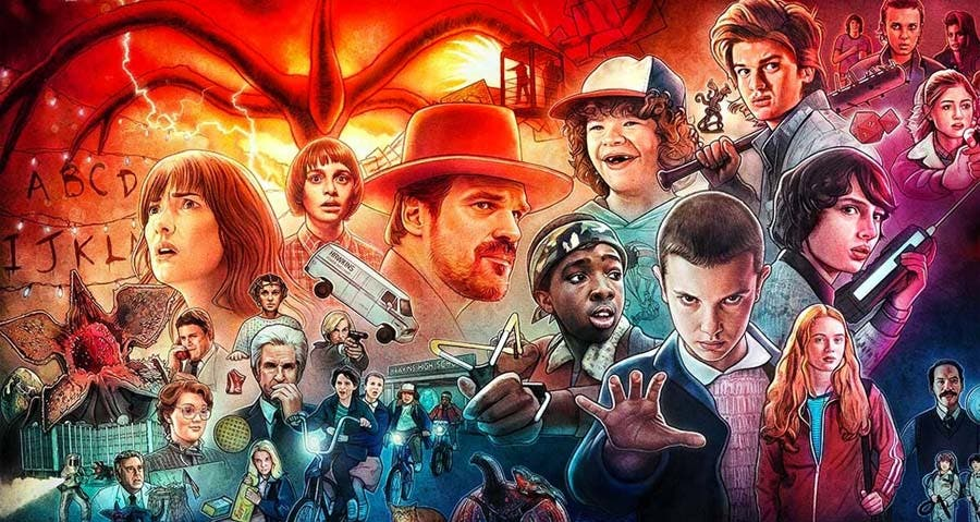 Stranger Things retoma el rodaje de la cuarta temporada