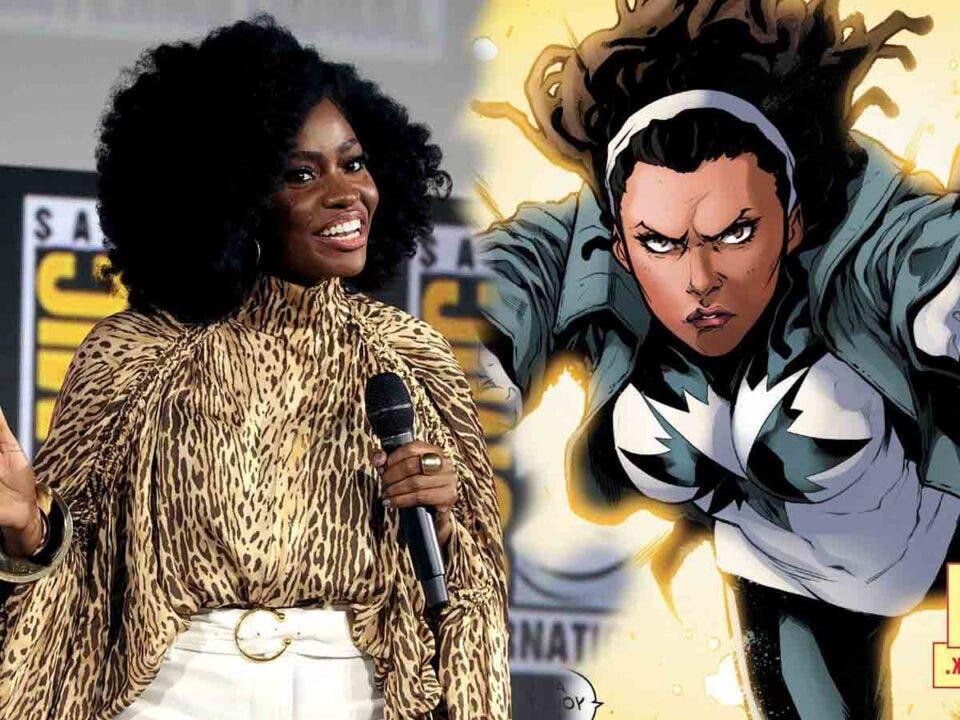Teyonah Parris habla de su debut en Marvel como Monica Rambeu