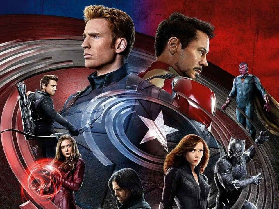 Concept Art del momento más épico Capitán América: Civil War (2016)