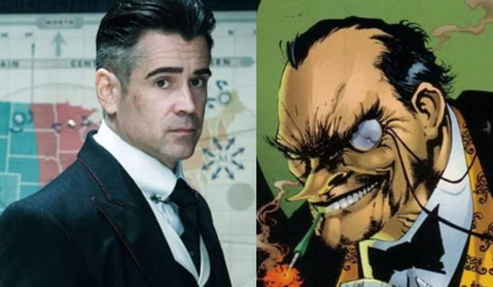 The Batman: Nuevo vistazo al sorprendente aspecto de Colin Farrell