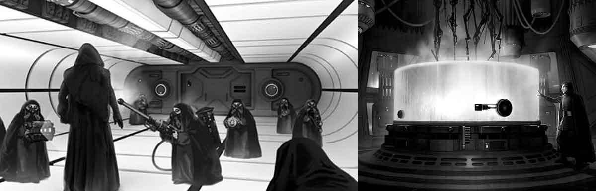 Star Wars: El laboratorio clonador de Palpatine pudo ser muy diferente