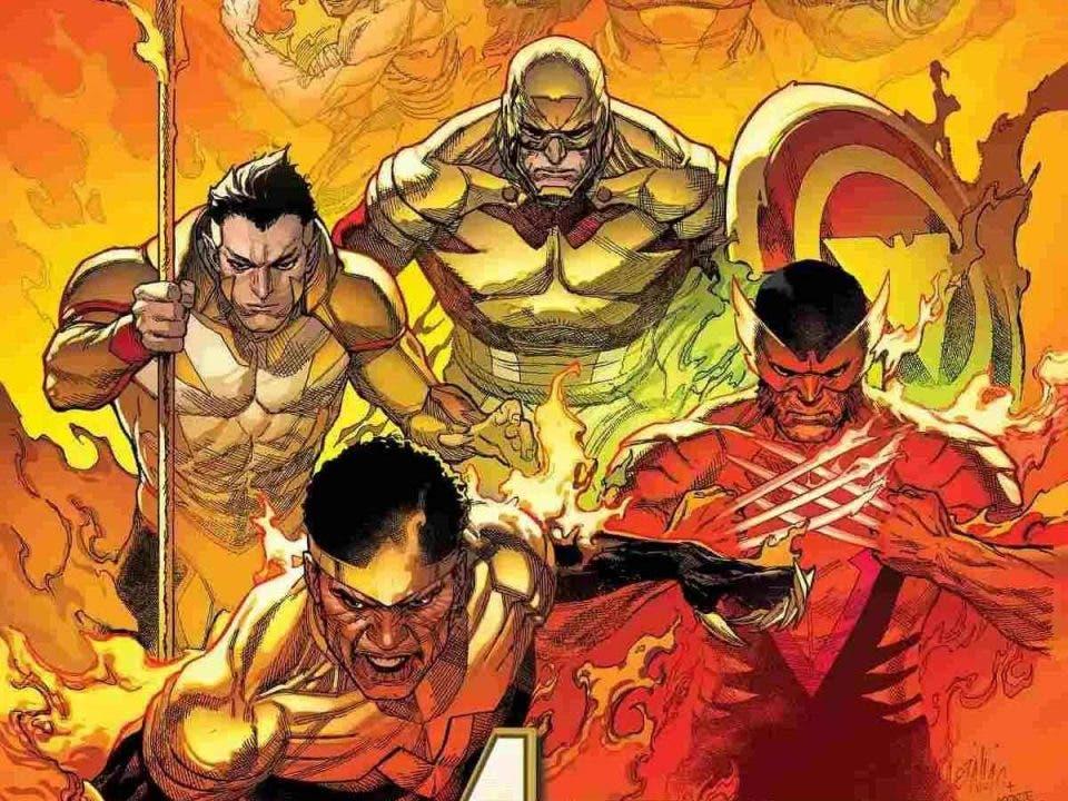 Marvel revela los Vengadores de la Fuerza Fénix