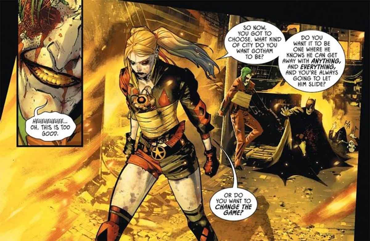 Batman demuestra que no conoce a Joker tan bien como Harley Quinn