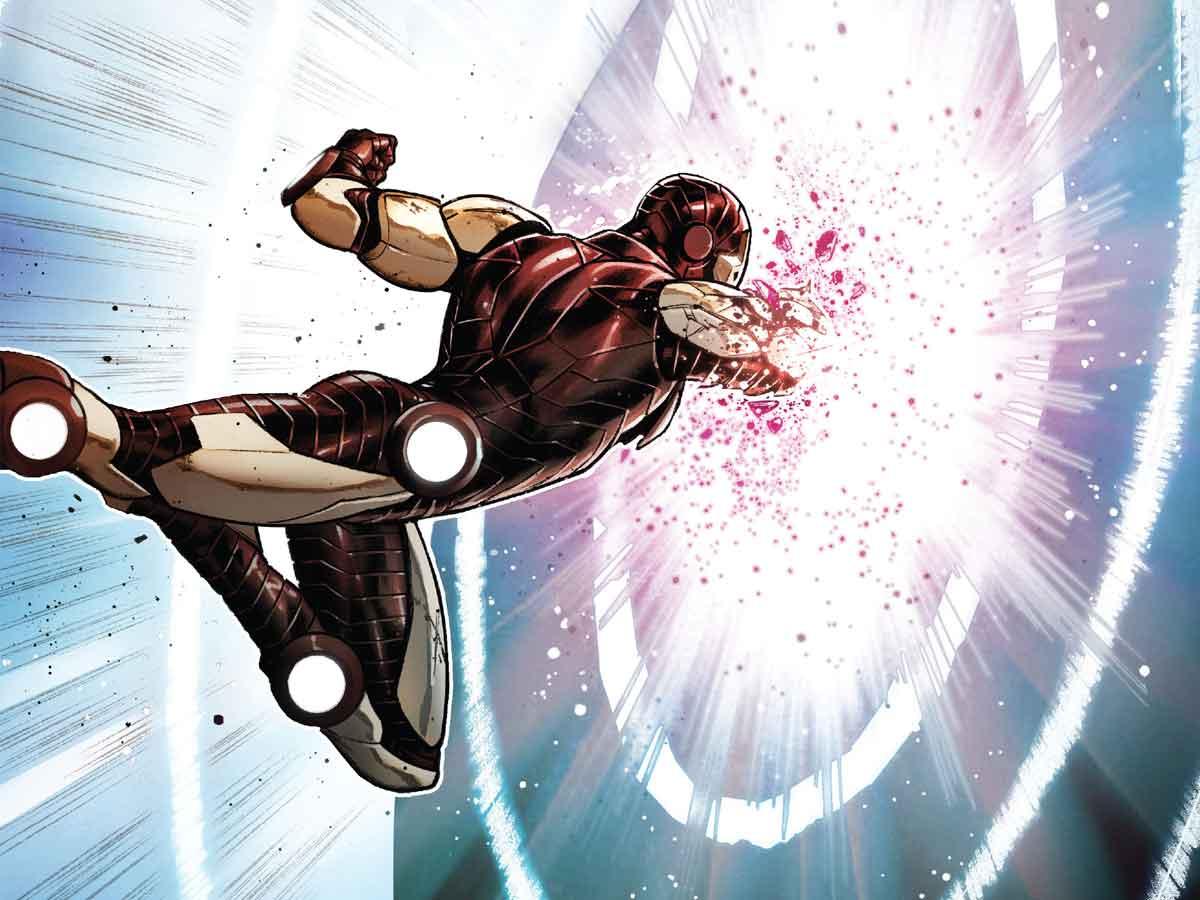 La nueva armadura de Iron Man puede atravesar Adamantium y Vibranium