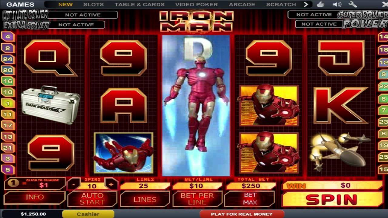 tragamonedas online iron man