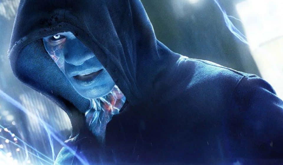 Fan Art de Jamie Foxx como Electro en Spider-Man 3