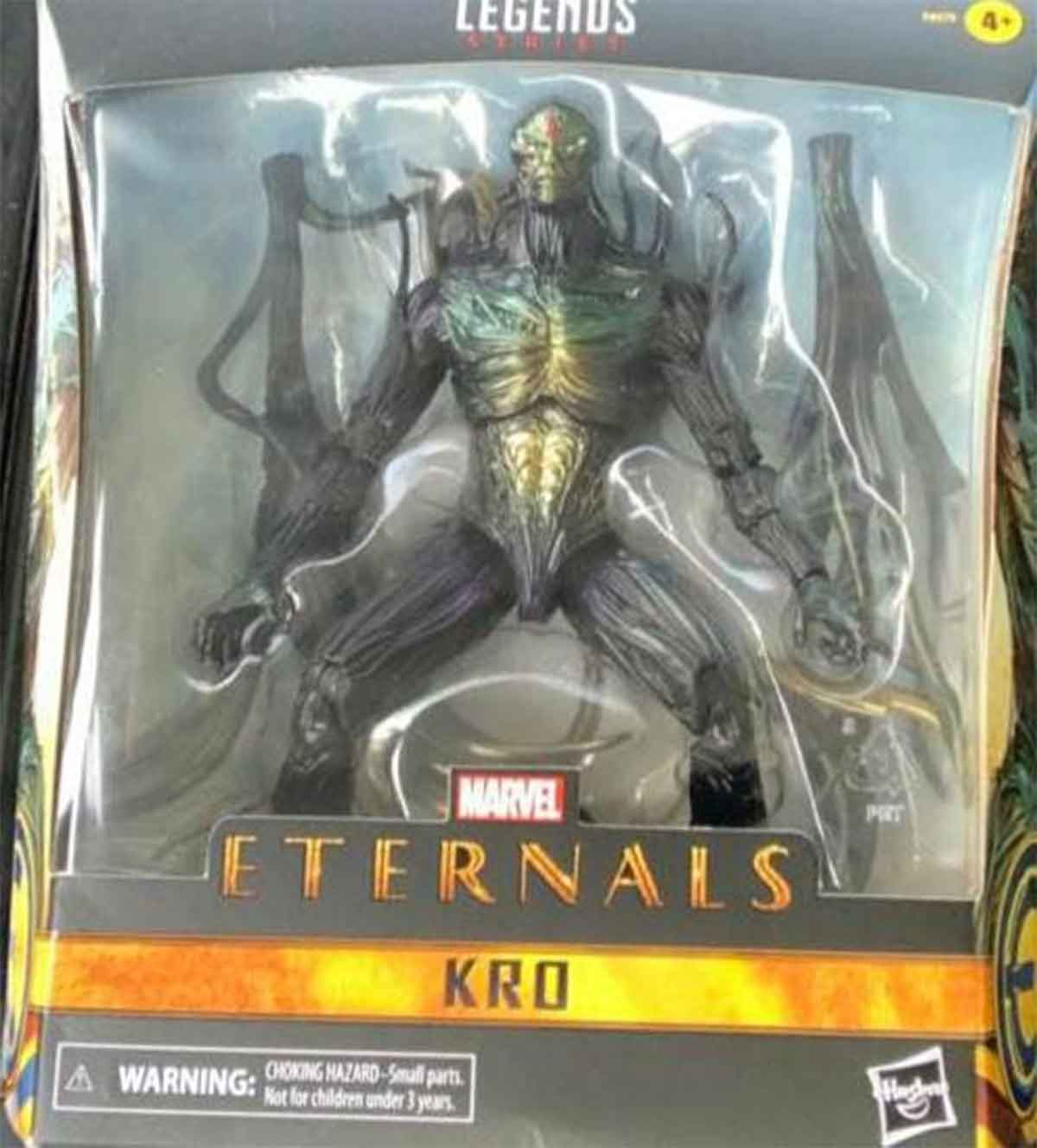Filtran el gran villano de la película de Los Eternos de Marvel
