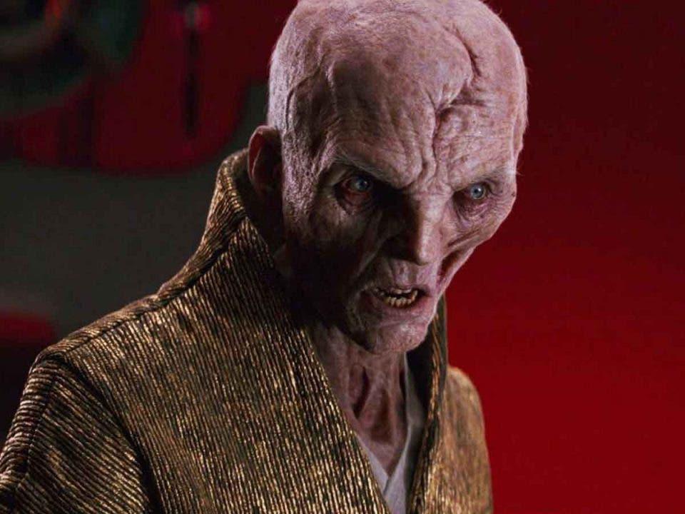Star Wars revelará todos los detalles del origen de Snoke