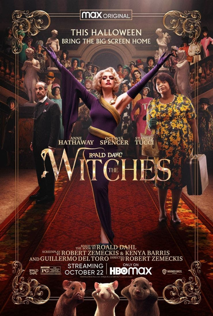 poster de The Witches remake