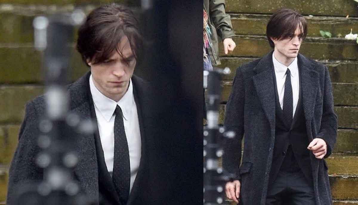 Filtran imágenes el regreso de Robert Pattinson al rodaje de The Batman