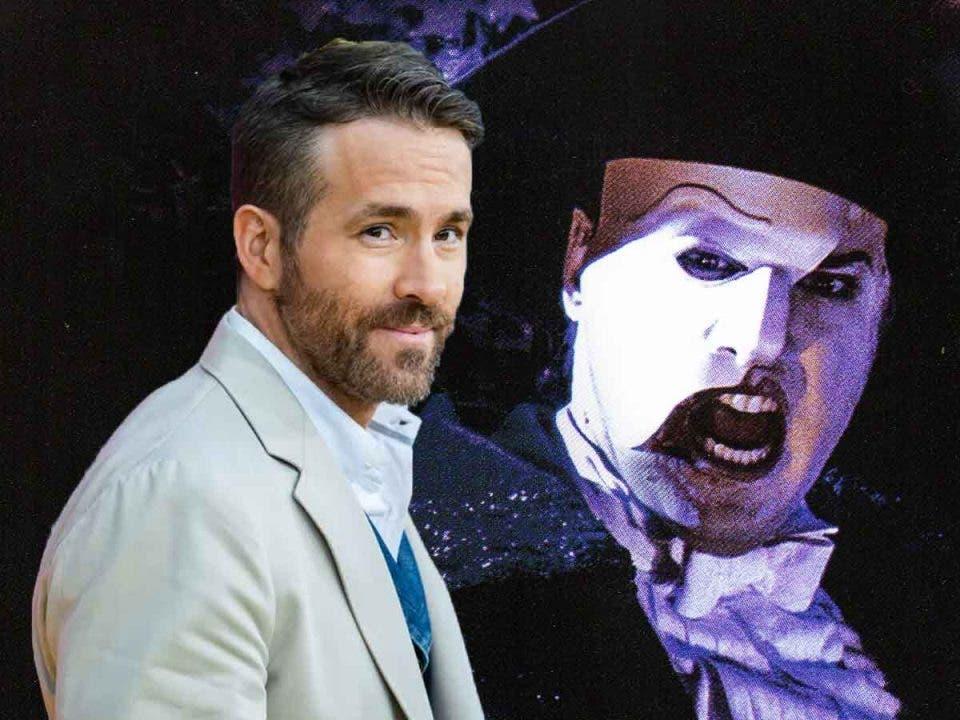 Ryan Reynolds podría protagonizar un remake de El Fantasma de la opera