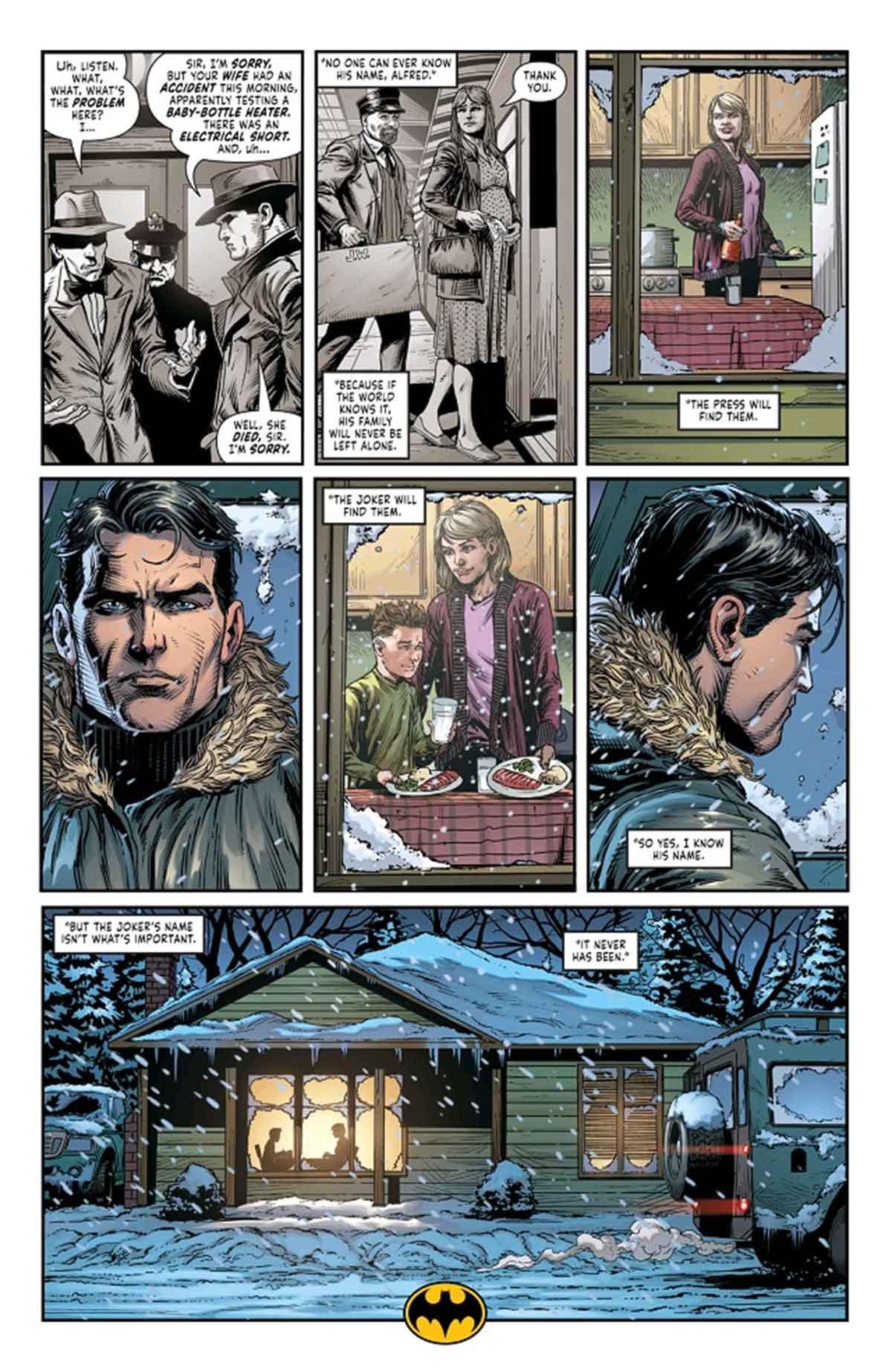 DC Comics revela un secreto del pasado del Joker (SPOILERS)