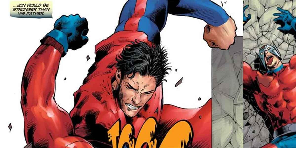 Superboy es oficialmente más poderos que Superman