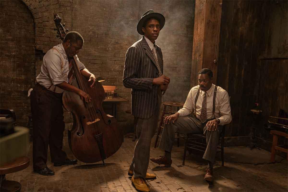 Netflix revela las primeras imágenes de la última película de Chadwick Boseman