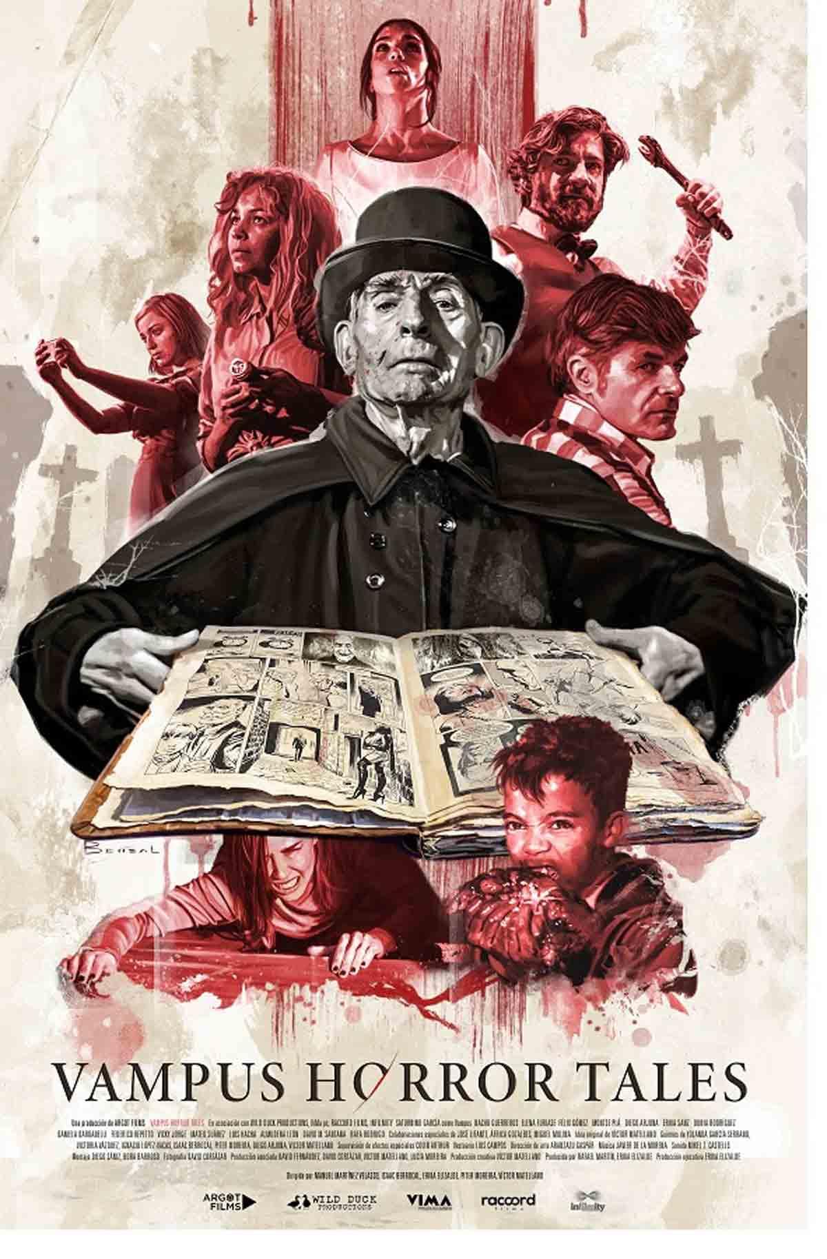 Vampus horror tales poster de David Benzal