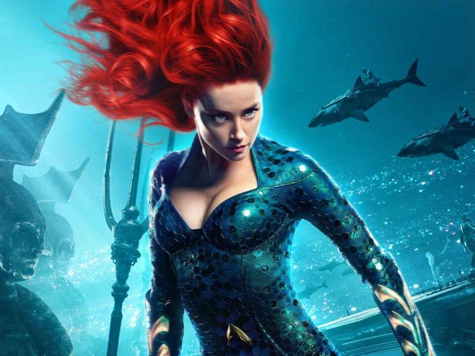 Amber Heard que estará en Aquaman 2 interpretando a Mera