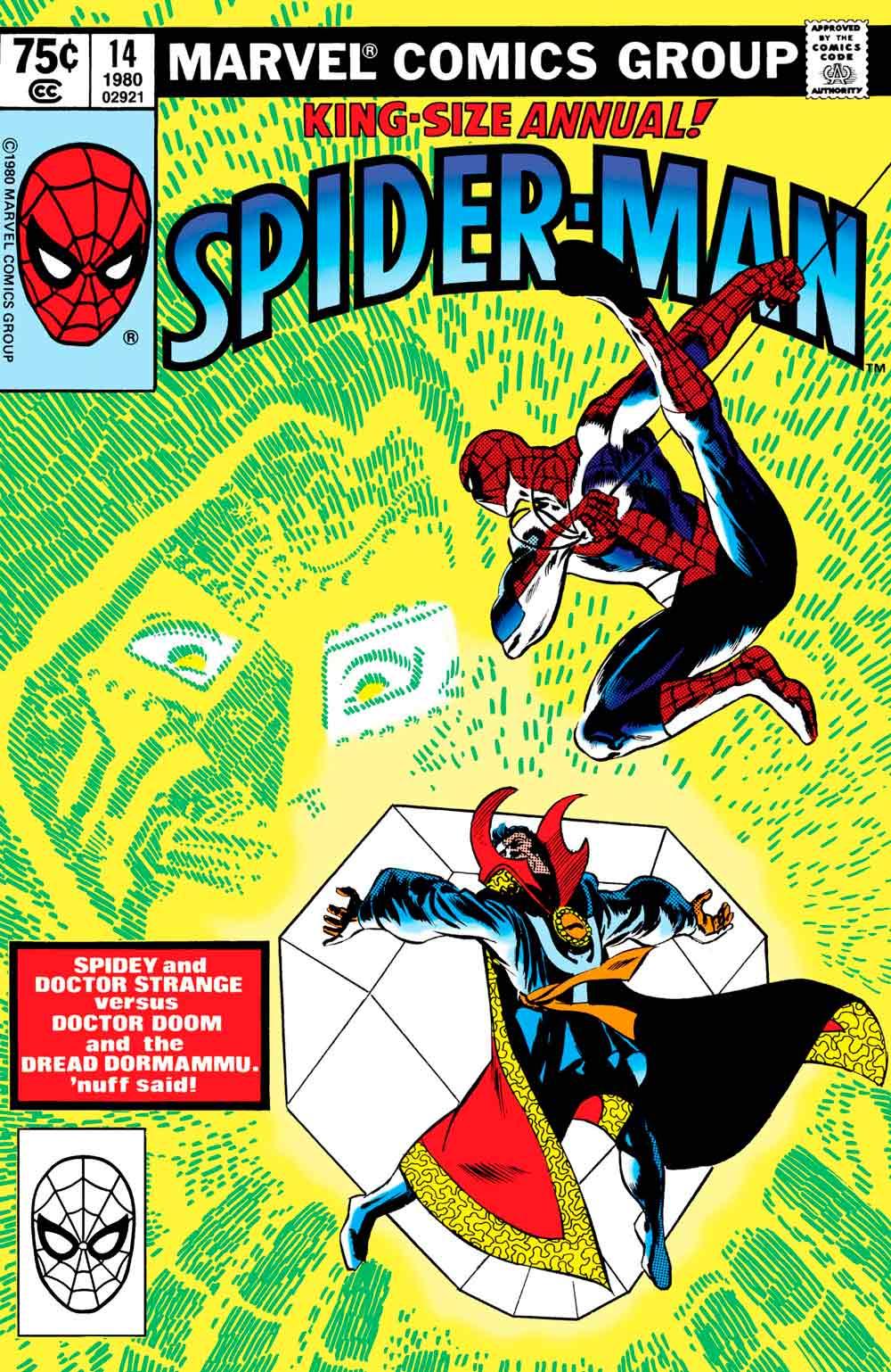 Annual 14 spider-man