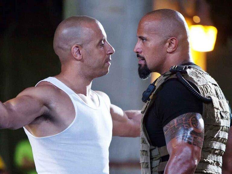 Vin Diesel and Dwayne Johnson quarreled over this phrase ...
