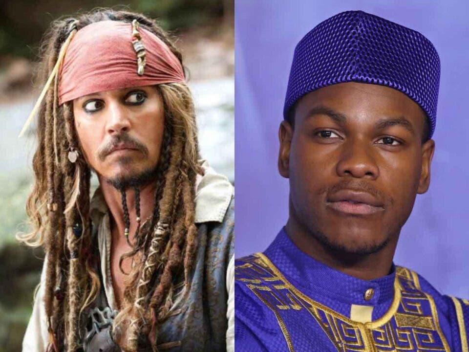 Así convenció Johnny Depp a John Boyega para pasarse a la actuación