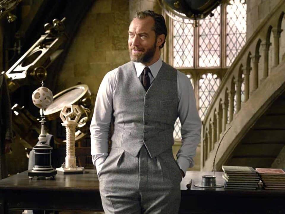 Jude Law explica porqué quiso unirse a la franquicia de Harry Potter