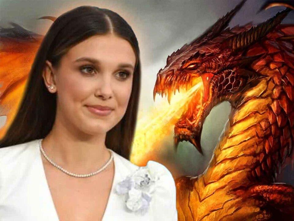 Millie Bobby Brown se enfrentará a un dragón en su nueva película de Netflix
