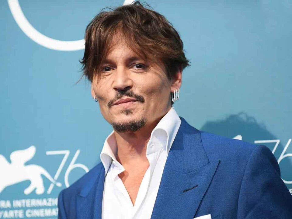 Primeras buenas noticias para Johnny Depp en un tiempo
