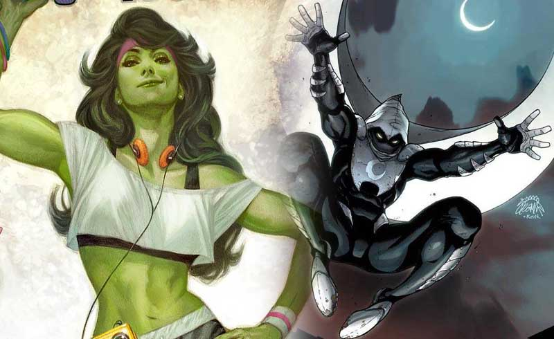 She-Hulk y Moon Knight