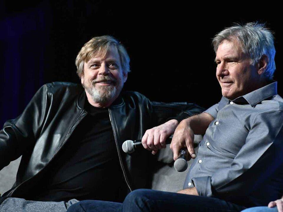 Star Wars quiere el regreso de Mark Hamill y Harrison Ford