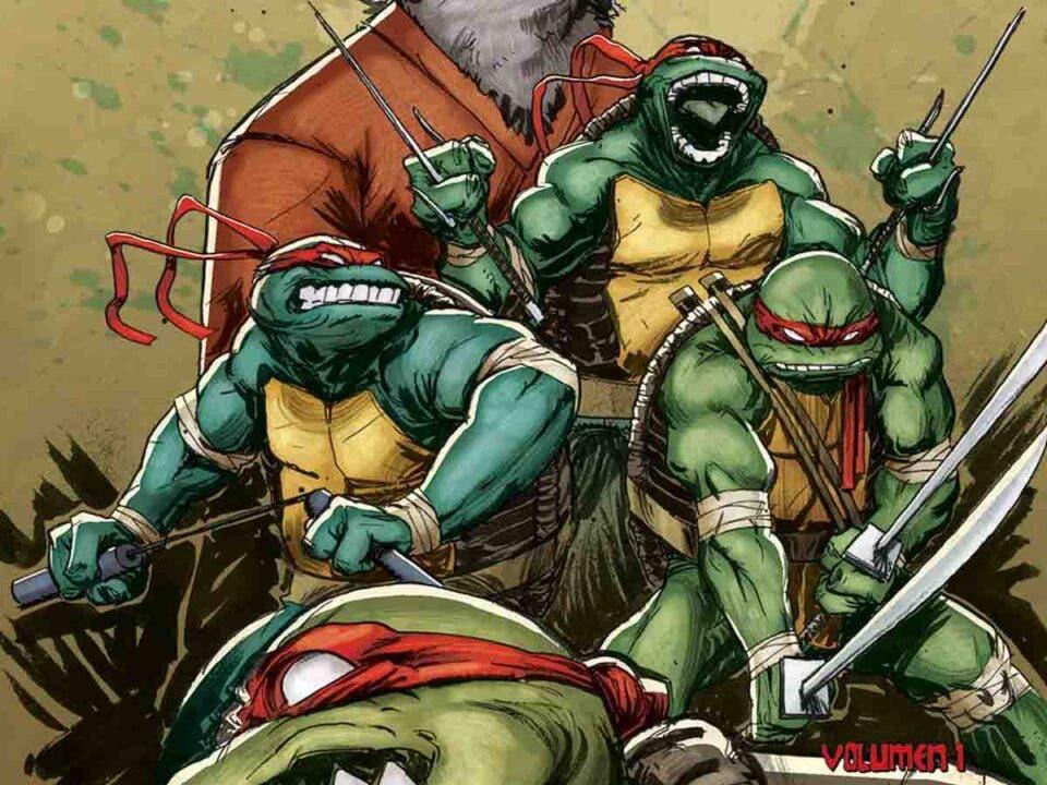 ECC Ediciones prepara el lanzamiento de la Tortugas Ninja