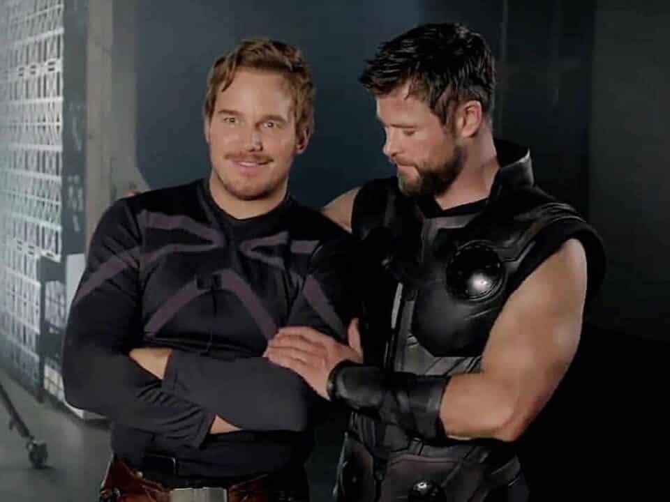Thor y Star-Lord continuarán su divertido enfrentamiento en Love and Thunder