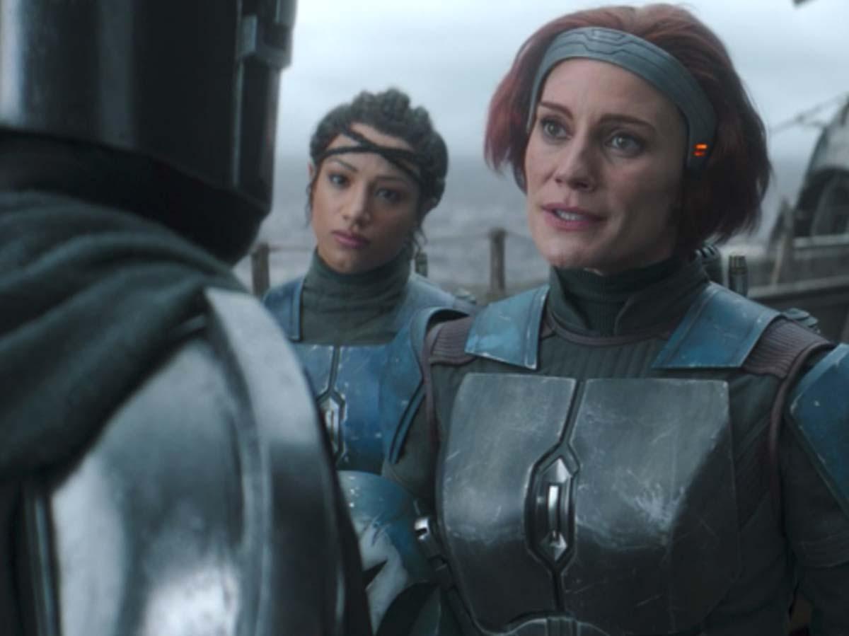 ¿Qué personaje interpreta Katee Sackhoff en The Mandalorian?