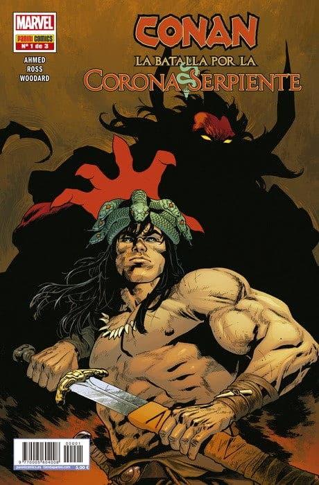 Conan : La Batalla por la Corona Serpiente  1 de 3