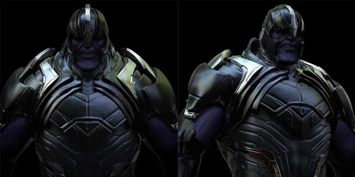 Vengadores: Endgame muestra las primeras versiones de Thanos