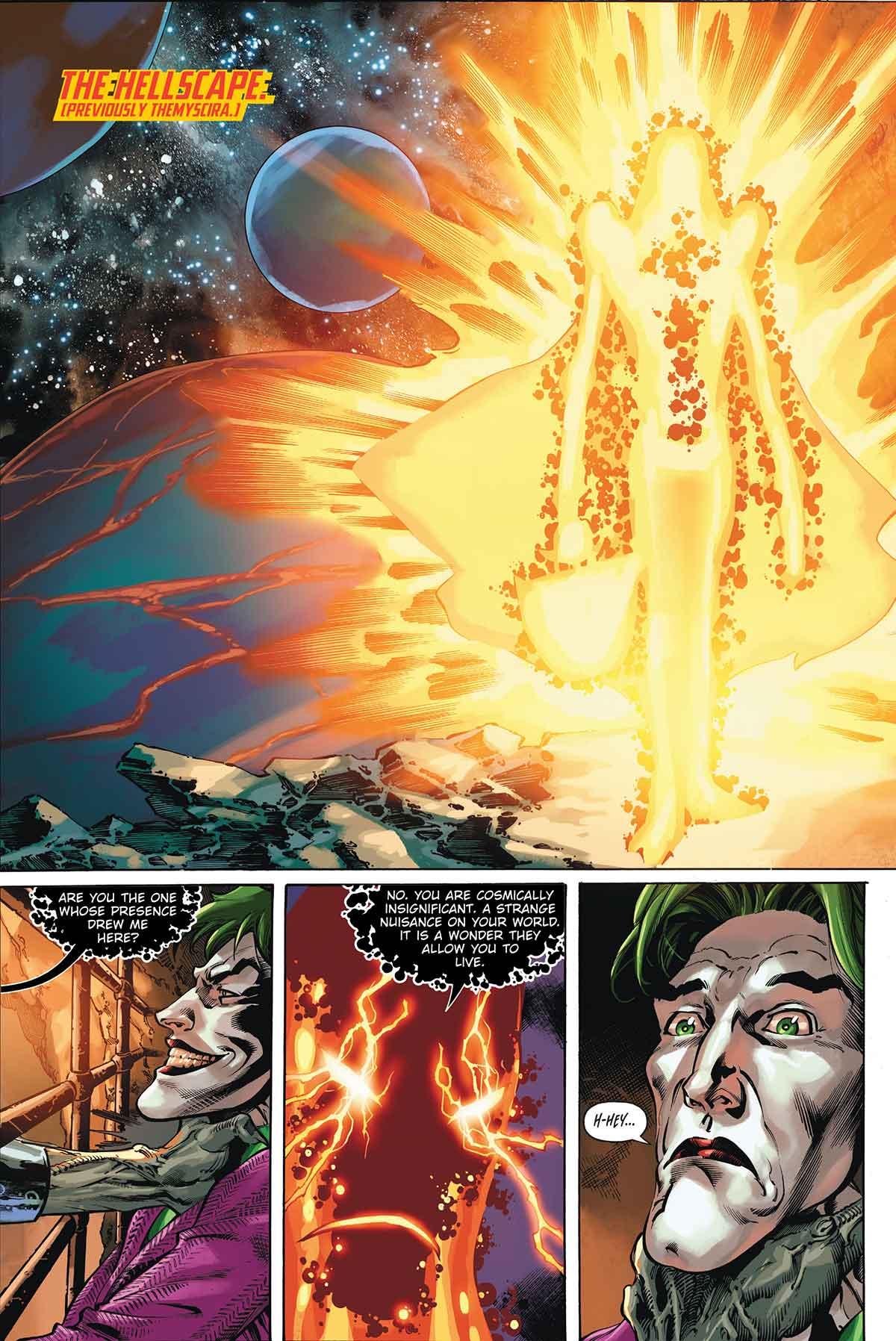 El villano de DC Comics tan terrorífico que hasta el Joker le tiene miedo