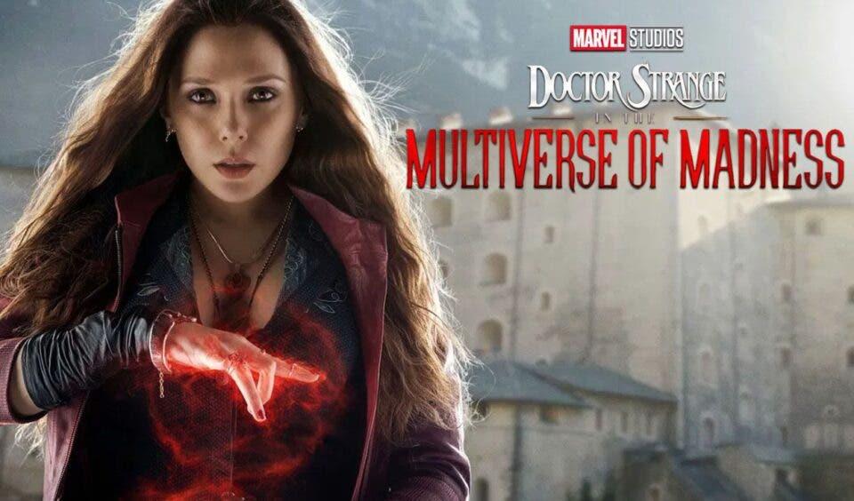 Elizabeth Olsen habla acerca del próximo rodaje de Doctor Strange