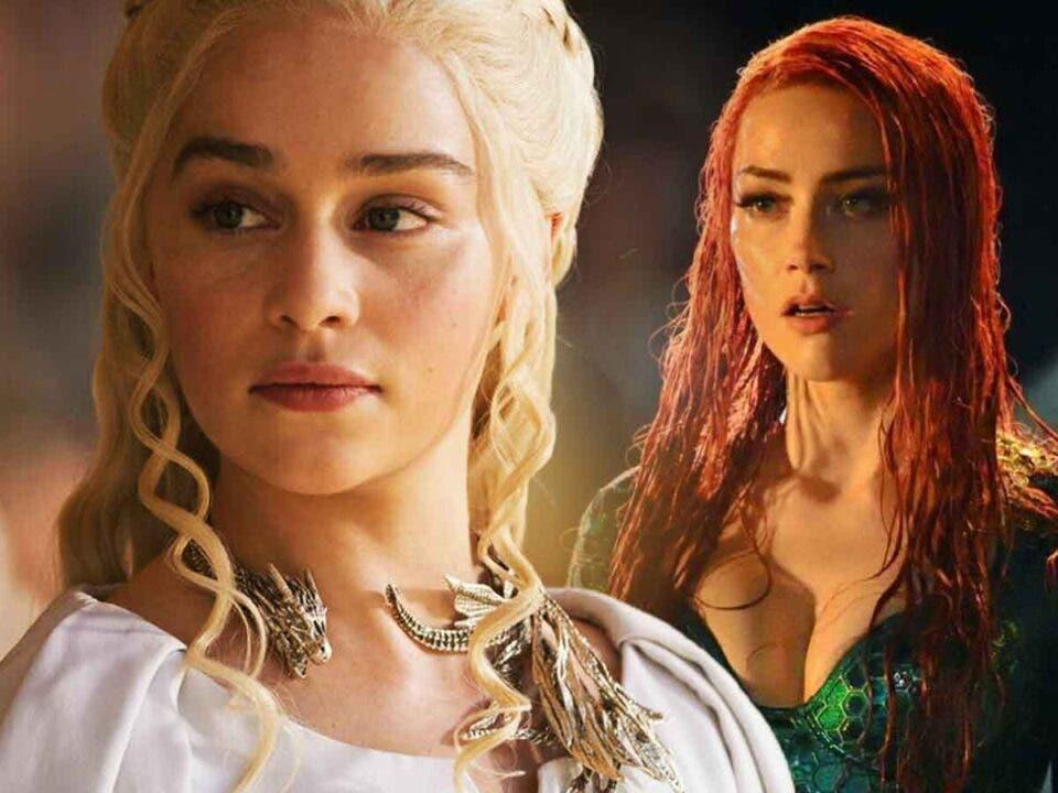 Espectacular Fan Art de Emilia Clarke como Mera en Aquaman 2