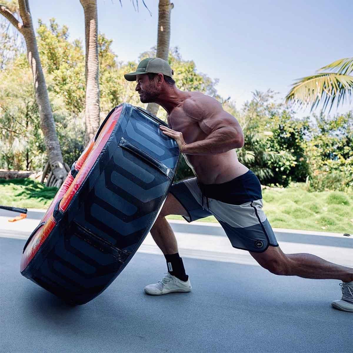 Chris Pratt está asustado con el brutal entrenamiento de Chris Hemsworth