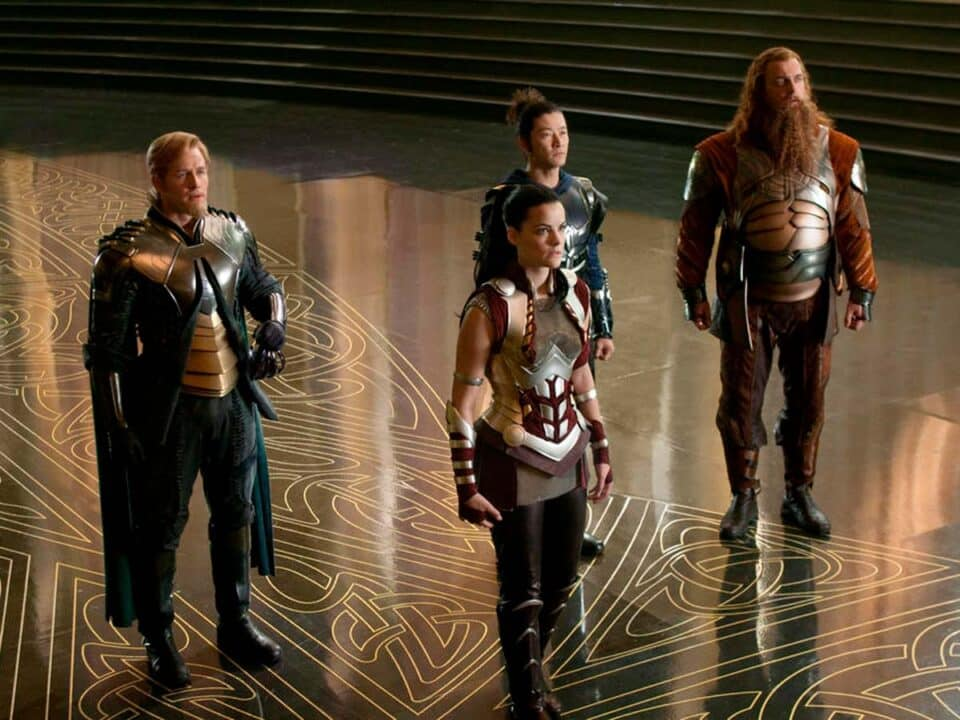 Thor: Los tres guerreros y Lady Sif