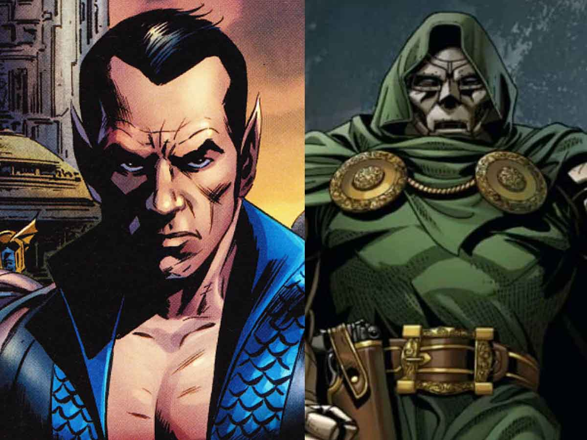 Black Panther 2 namor y doctor doom
