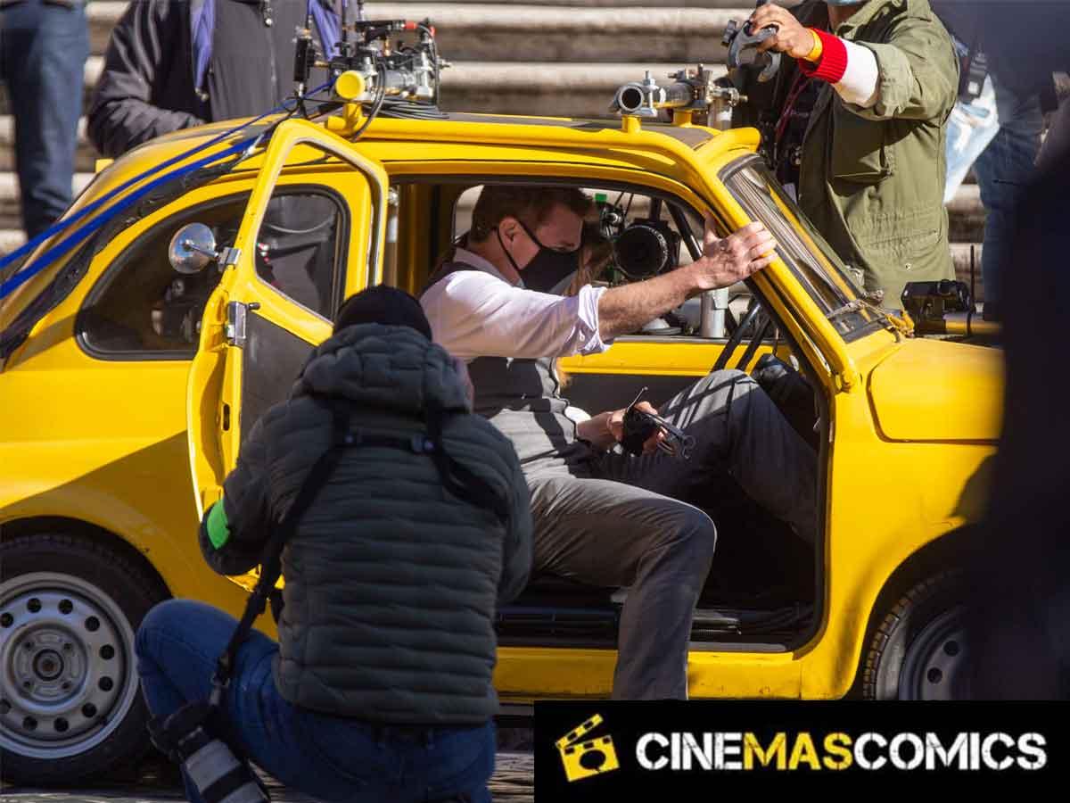 Filtran espectaculares imágenes de escenas de acción de Misión Imposible 7