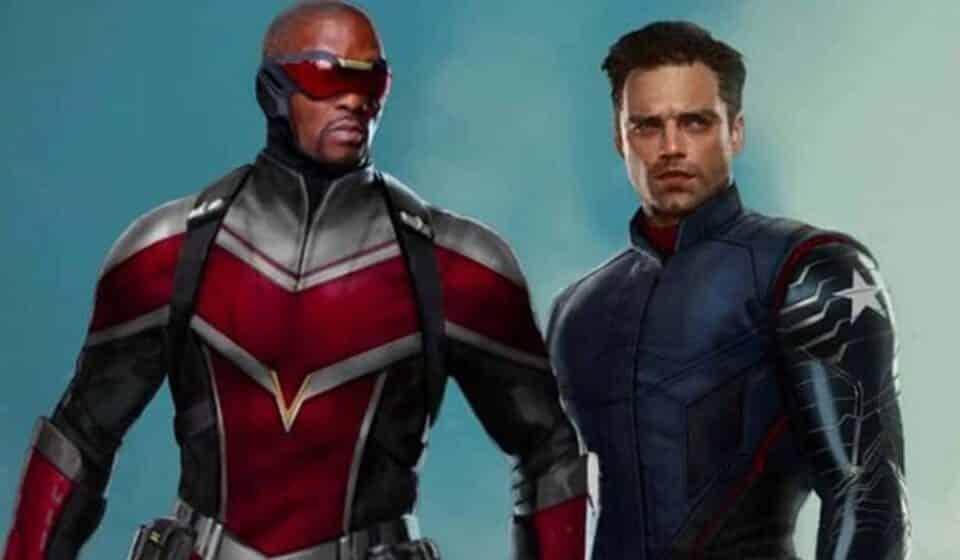 Así luciría Sam Wilson como Capitán América en Falcon and the Winter Soldier