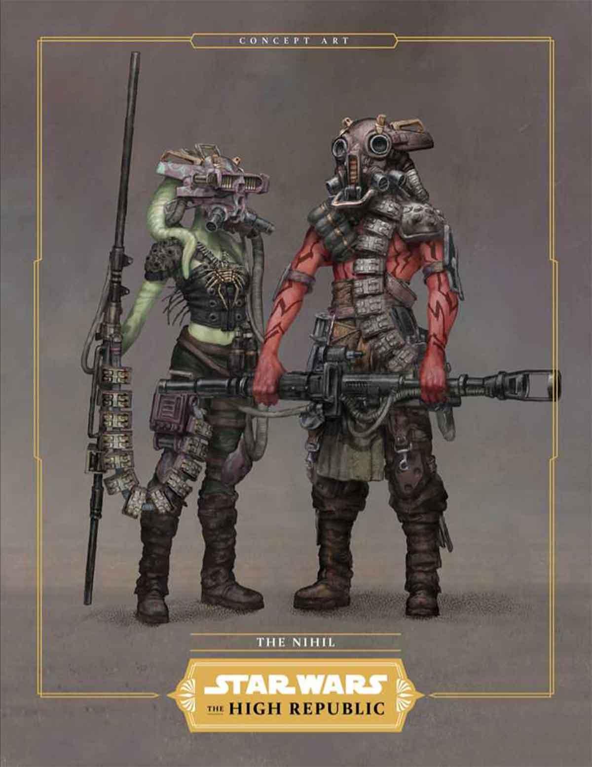 Star Wars revela los villanos más terroríficos